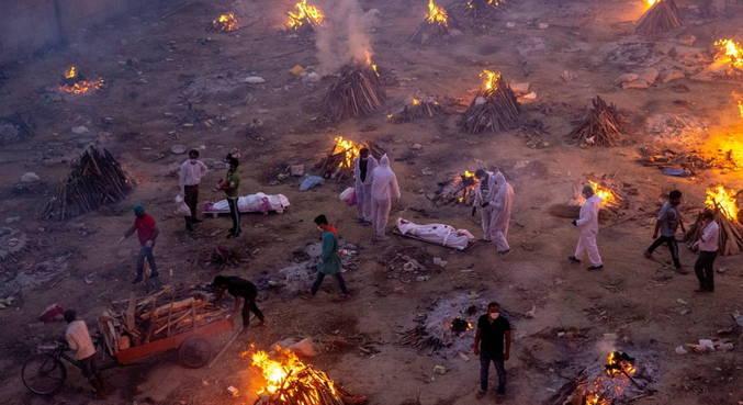 Covid: mortes na Índia podem ser até 10 vezes maiores, diz estudo