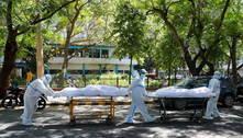 Vinte pacientes com covid morrem por falta de oxigênio na Índia
