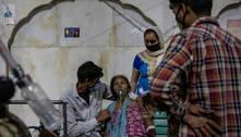 Índia bate recorde de casos diários de covid-19 pelo 4º dia seguido
