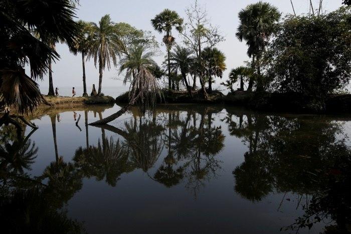Mudanças climáticas ameaçam moradores de ilha na Índia