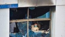 Incêndio em hospital na Índia mata 13 pacientes de covid-19