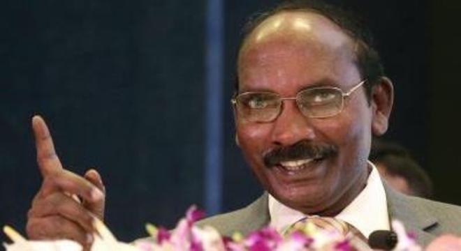O chefe da Organização de Pesquisa Espacial da Índia (ISRO), Kailasavadivoo Sivan