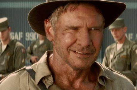 Ford no mais recente filme do arqueólogo