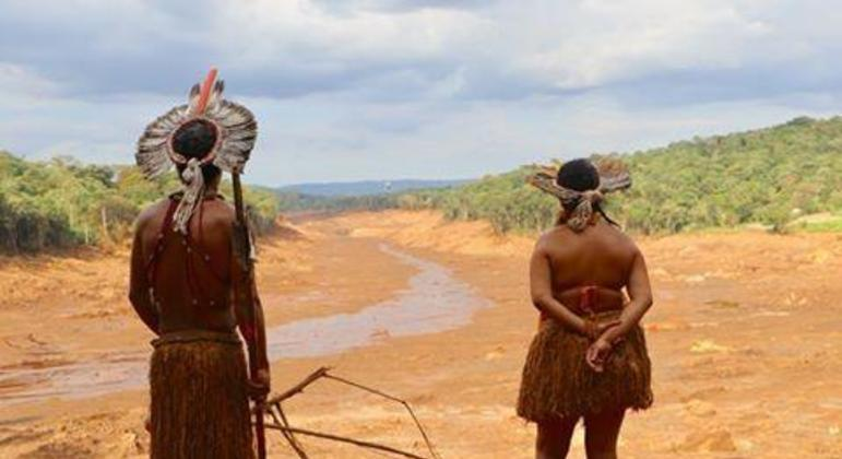 Indígenas Pataxó foram atingidos pelo rompimento da barragem de Brumadinho