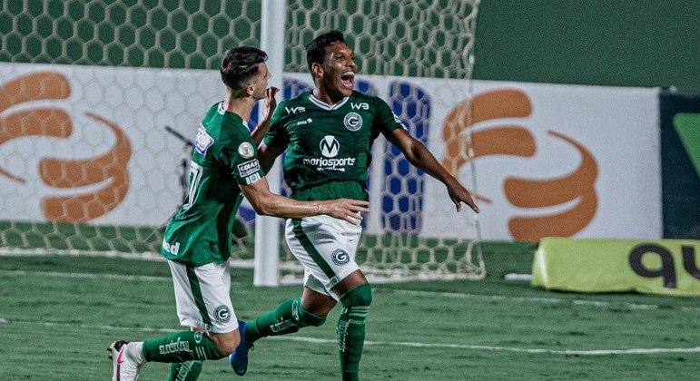 Revelação do Goiás, Índio fez o gol da vitória para cima do Atlético-MG