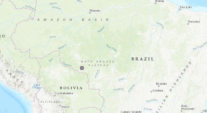 Terra Indígena de Tanaru está localizada no estado de Rondônia