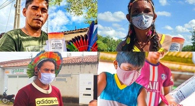 Campanha está auxiliando povo indígena durante a pandemia