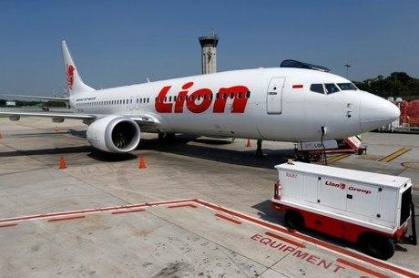 Boeing da Lion Air, do mesmo modelo que caiu