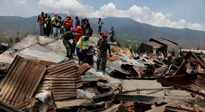 Pelo menos 1,4 milhão de pessoas vivem nas áreas afetadas pelo terremoto