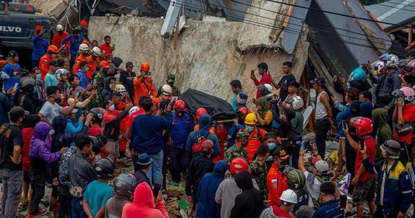 Sobe para 46 o número de mortos em terremoto na Indonésia