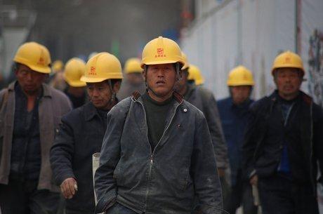 indústria, china, fábrica, chineses, produção industrial