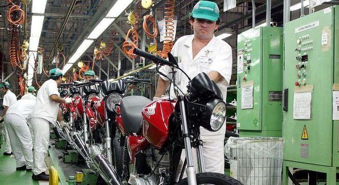 Em setembro de 2019, foram produzidas 92.894 motocicletas