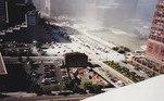 'Sempre fui fascinado pelo significado histórico do fotojornalismo, especialmente o que diz respeito ao 11 de Setembro, e quando me lembrei em fevereiro que tinha essas fotografias, passei no scanner e as postei no meu perfil do Flickr.