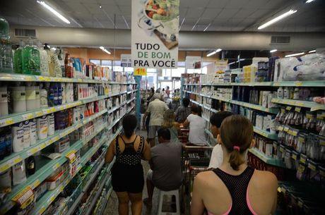 Conta do supermercado subiu em dezembro