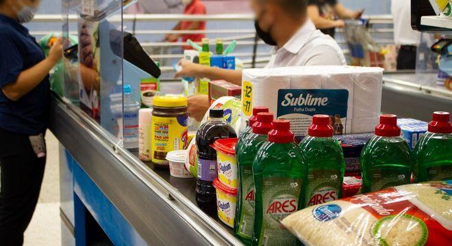 A inflação nos supermercados chegou a 2,2% em setembro