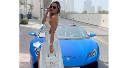 Influencer postou fotos em Dubai