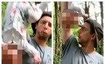 Igor Kravtasov, 35, um influencer russo não é a melhor pessoal para lidar com bebês. Diante das câmeras, ele chacoalhou uma criança de seis meses pelas pernas*EstagiáriadoR7, sob supervisão de Filipe Siqueira