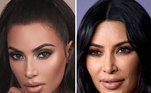 Kim Kardashian também foi alvo da página