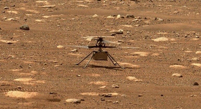Ingenuity levantará um voo de 3 metros de altura no céu de Marte