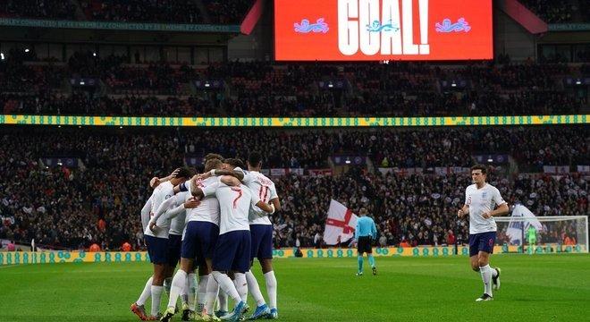 Inglaterra 7 X 0 Montenegro