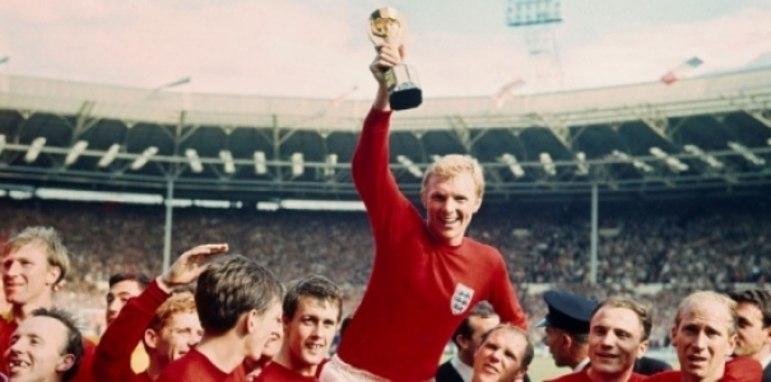 Inglaterra - No único título mundial do país da rainha, os ingleses se sagram campeões de forma invicta em 1966 (5 vitórias e 1 empate)