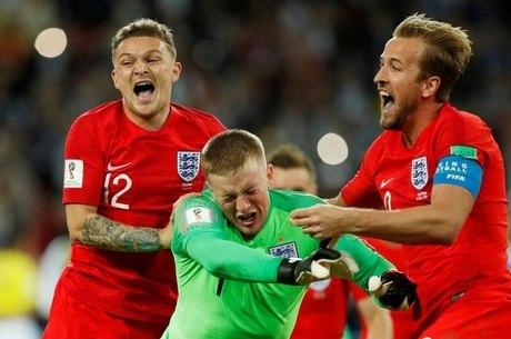 Inglaterra vence pela 1ª vez disputa de pênaltis em Copa do Mundo ... bc62741fb050a