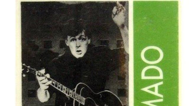 Ingresso diz: Paul McCartney in Rio - gramado