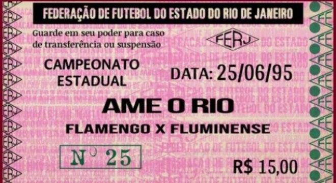 Ingresso Final Carioca 95