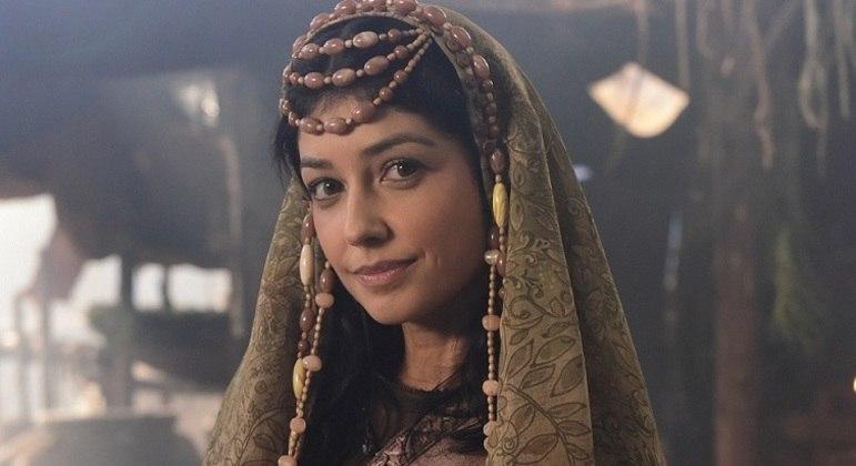 """Ingrid Conte, Elisa em """"Gênesis"""", também na série """"Dom"""""""
