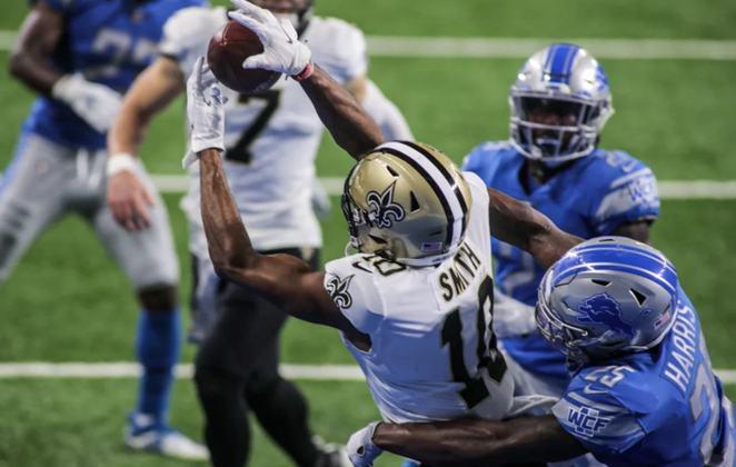 Início instável do New Orleans Saints, mas o retorno de Michael Thomas teve catapultar a equipe ao topo.