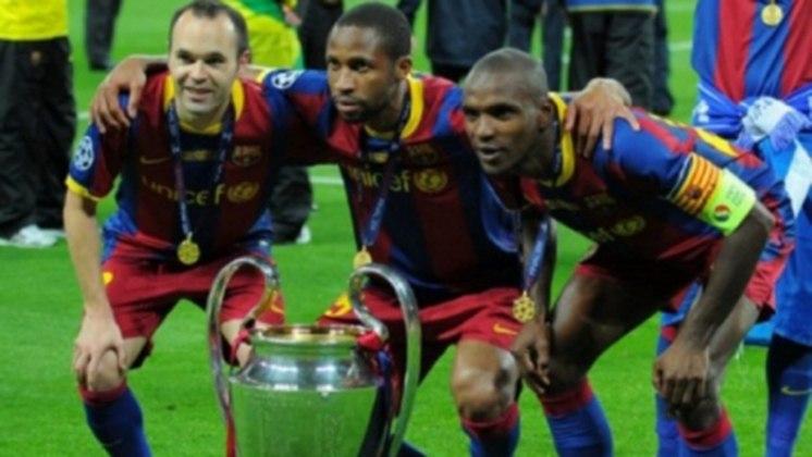 Iniesta Liga dos Campeões 2011