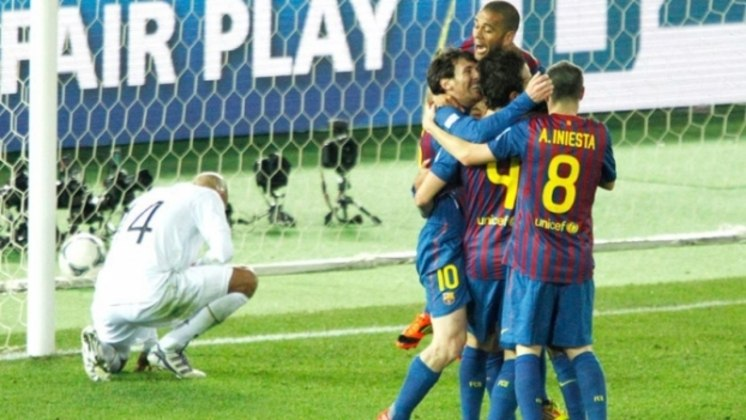 Iniesta Mundial de Clubes 2011