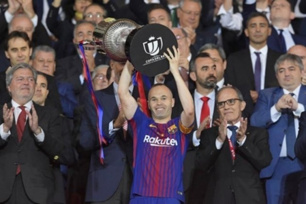 Iniesta - Sevilla x Barcelona