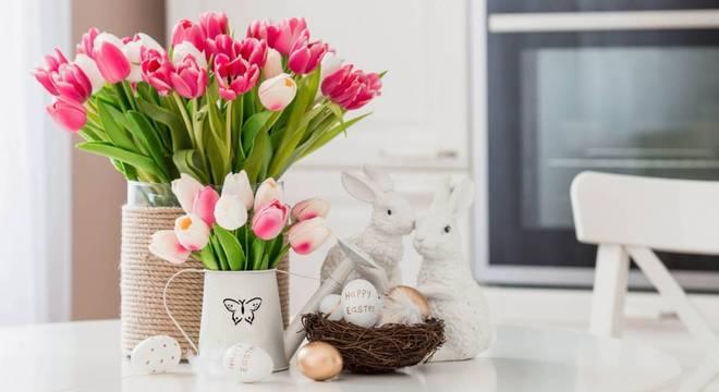Inove na decoração nessa Páscoa com enfeites criativos e coloridos