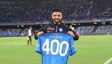 No jogo 400 do capitão Insigne, o Napoli mantém os seus 100%