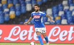 O Napolivenceu Lazio por 3 a 1, com gols Ruiz, Insgine (foto) e Politano, fechando sua participação em 7º no campeonato, com 62 pontos