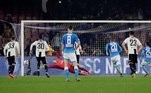 Soccer Football - Serie A - Napoli v Juventus - Stadio San Paolo, Naples, Italy - March 3, 2019 Napoli's Lorenzo Insigne misses a penalty REUTERS/Ciro De Luca