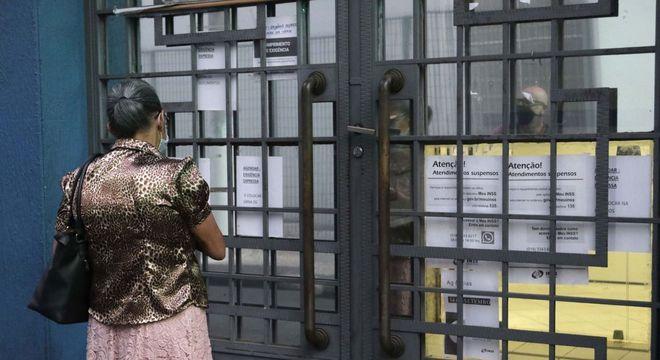 Agência fechada em São Paulo, após decisão da Justiça