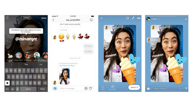 Novo recurso do Instagram permite compartilhar posts em que você foi marcado