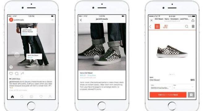 Em 2016, o Instagram lançou as etiquetas para colocar preço nos produtos das fotos
