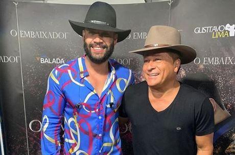 Gusttavo Lima e Leonardo são amigos na vida real