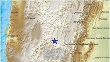 Terremoto de magnitude 6,2 atinge região de Salta, na Argentina