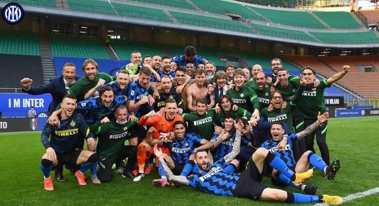 A Inter campeã de 2020/2021