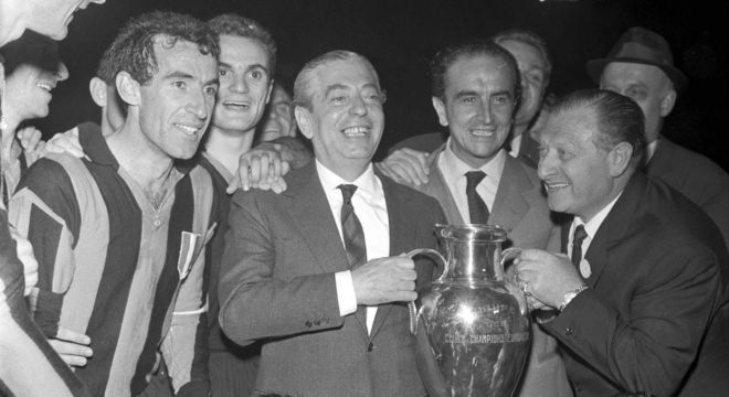Angelo Moratti, nos tempos áureos de 1964/65