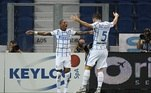 Em Bérgamo, a Inter de Milão visitou a Atalanta e venceu por 2 a 0, com gols de D'Ambrosio e Young. A vitória rendeu o vice-campeonato para osNerazzurri, com 82 pontos