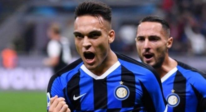 Inter x Juventus - Lautaro Martínez