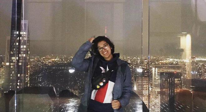 Bianca está estudando em Nova York, estado mais afetado pela doença  nos EUA