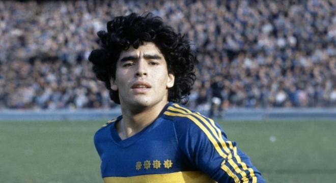 Maradona é um dos maiores jogadores da história do Boca