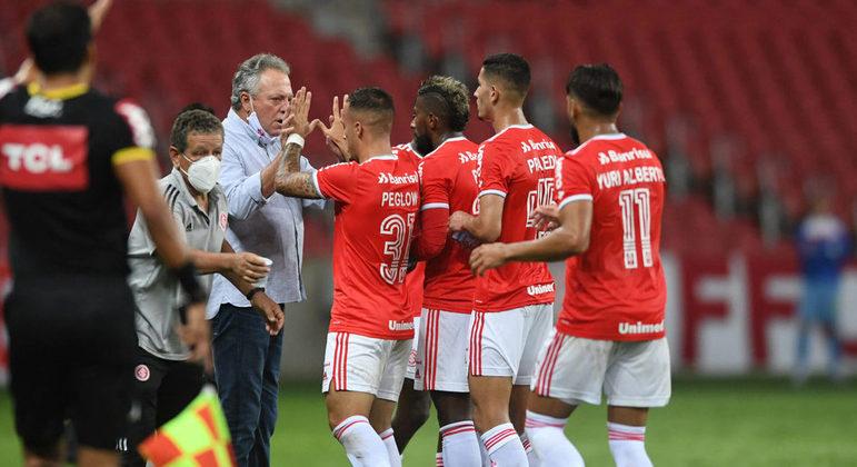 O Inter de Abel vive o melhor momento. Com um ponto atrás, será guerra contra o São Paulo