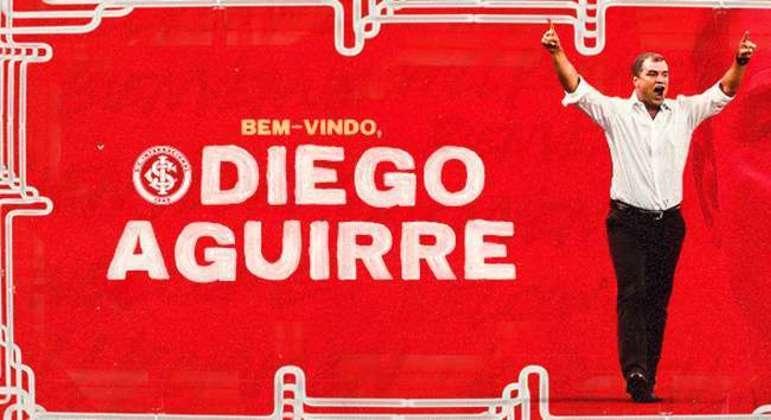 Inter celebra a contratação de Aguirre. Sylvinho só está no Corinthians pela recusa do uruguaio